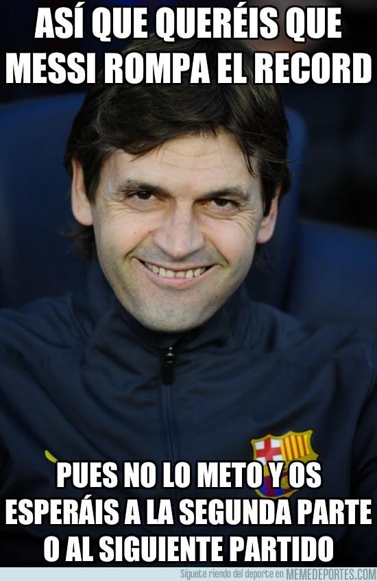 48292 - Así que queréis que Messi rompa el récord...