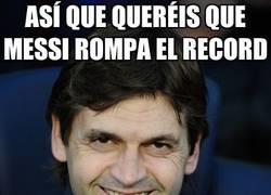 Enlace a Así que queréis que Messi rompa el récord...