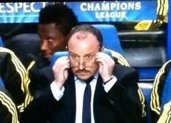 Enlace a La reacción de Benítez al ver el gol de Torres.