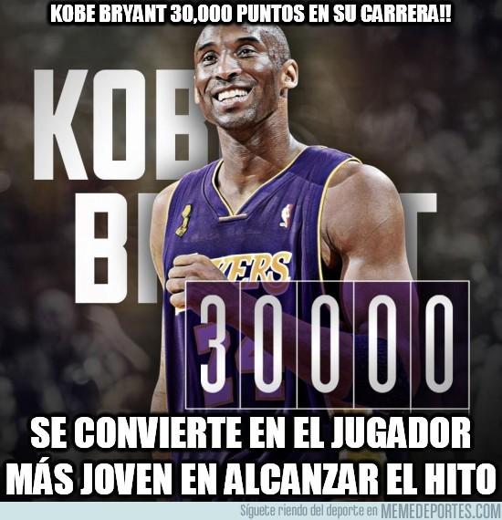 48647 - Kobe Bryant, 30.000 puntos en su carrera