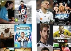 Enlace a ¿A qué juegos de la play juegan los futbolistas?