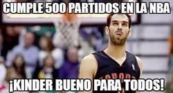 Enlace a Jose Calderón y sus 500 partidos