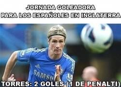 Enlace a Goles españoles en la Premier