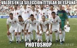 Enlace a Valdés en la selección titular de España