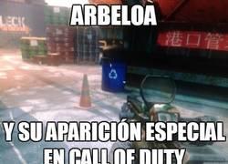 Enlace a Arbeloa en Call of Duty