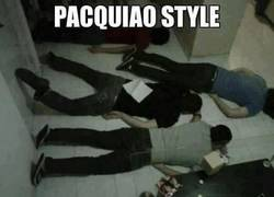 Enlace a Pacquiao Style Oopp Oopp!