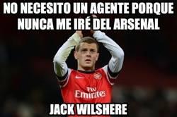 Enlace a No necesito un agente porque nunca me iré del Arsenal