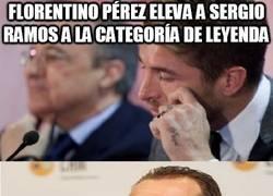 Enlace a Sergio Ramos, leyenda