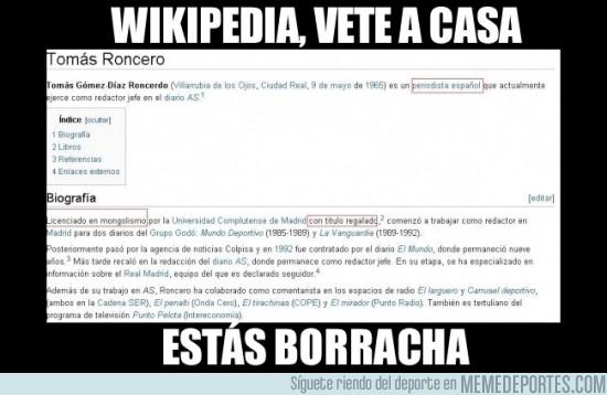 51289 - Los de Wikipedia son unos cachondos