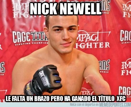 51326 - Nick Newell, con un brazo y dos cojones