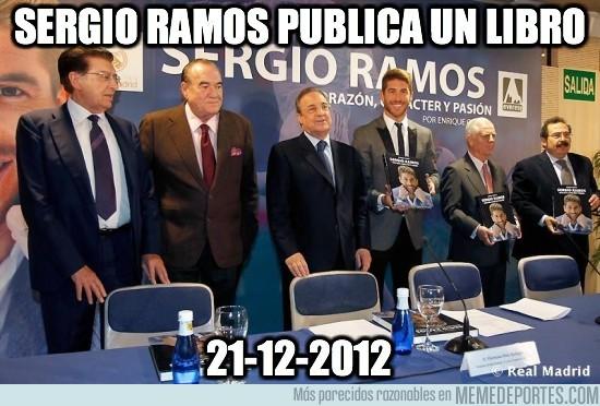 51460 - Sergio Ramos publica un libro
