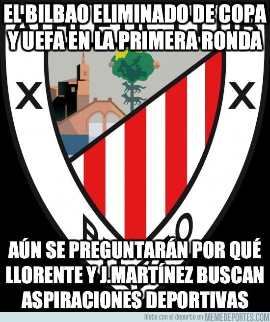 51895 - El Bilbao eliminado de Copa y UEFA en la primera ronda