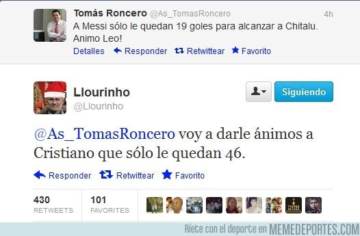 52016 - @Llourinho volviendo a callar a Roncero