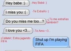Enlace a FIFA y sólo FIFA