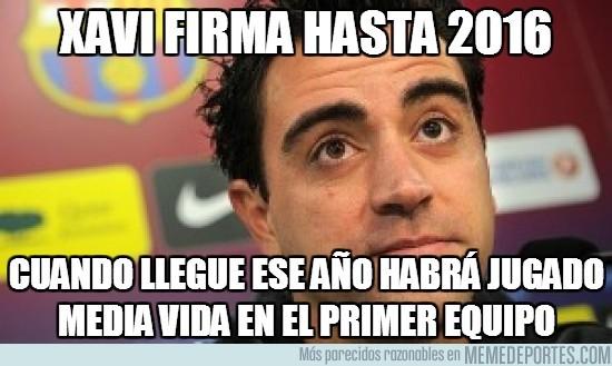 52429 - Xavi firma hasta 2016