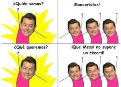 Enlace a Roncero y su peculiar forma de arruinar a Messi