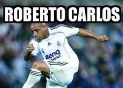 Enlace a La poderosa pierna zurda de Roberto Carlos