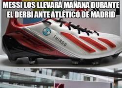 Enlace a Las botas diseñadas por un fan de Messi
