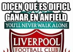 Enlace a Es difícil ganar en Anfield