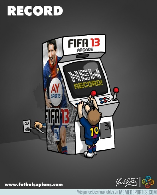 53638 - Los récords de Messi