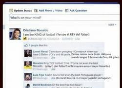 Enlace a Mientras, en el Facebook de CR7