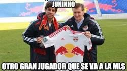 Enlace a Juninho, carretera y manta y hacia la MLS