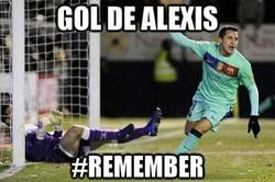 Enlace a Gol de Alexis Sánchez #remember