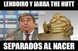 Enlace a Lendoiro y jabba the hutt