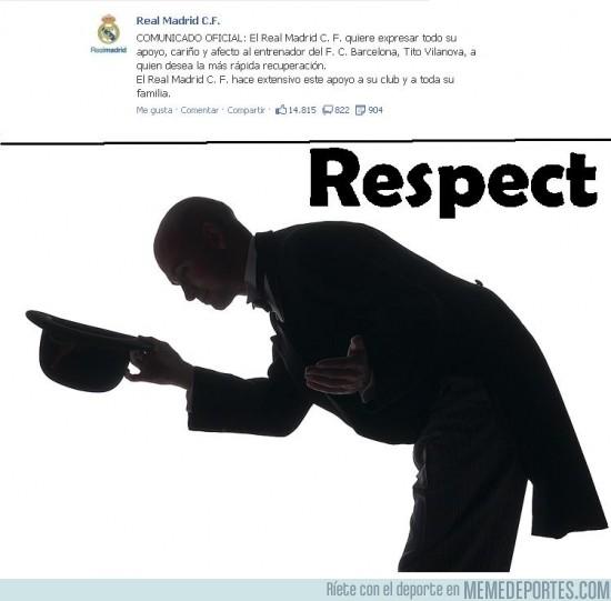 55182 - El Real Madrid dando un claro ejemplo de #Respect