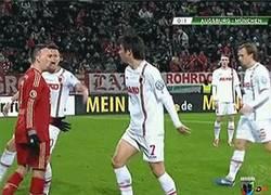 Enlace a GIF: Ribery y su mala hostia