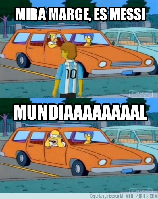 55437 - ¡Mira es Messi!