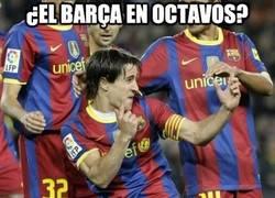 Enlace a ¿El Barça en octavos?