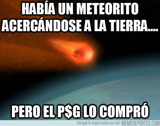 56147 - Había un meteorito acercándose a la Tierra....