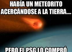 Enlace a Había un meteorito acercándose a la Tierra....