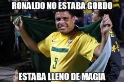 Enlace a Ronaldo no estaba gordo