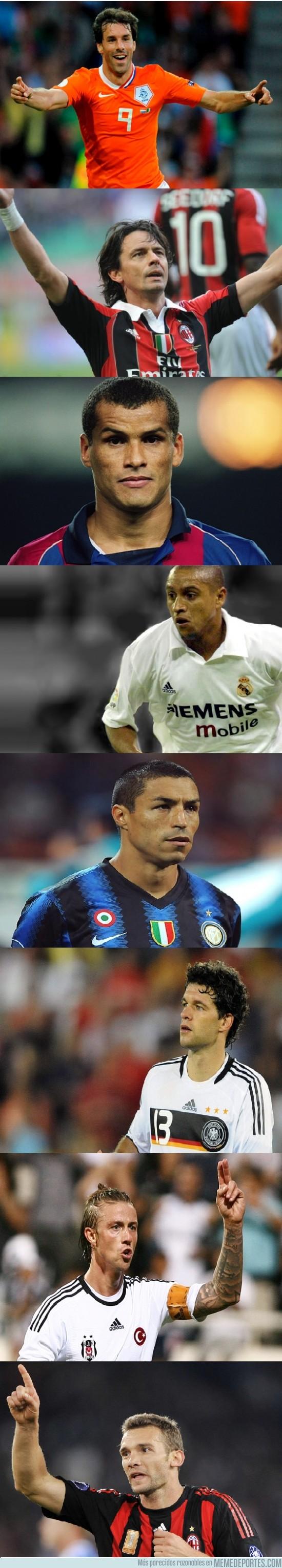 56623 - Tributo a las leyendas que han dejado el fútbol en 2012