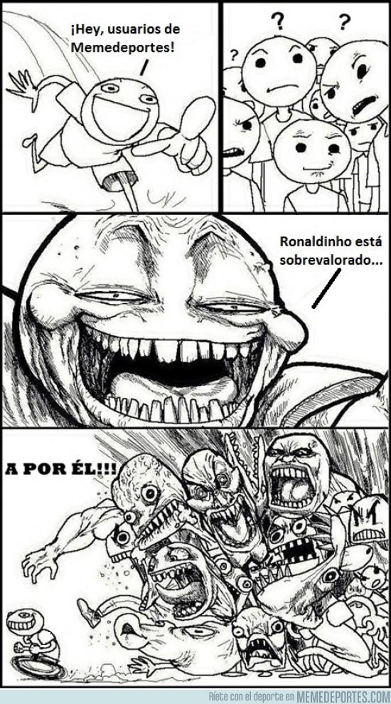 57271 - Ronaldinho es intocable aquí