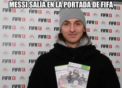 Enlace a Messi salía en la portada del Fifa