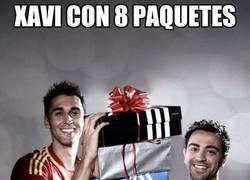 Enlace a Xavi con 8 paquetes
