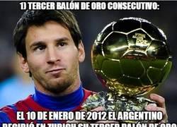 Enlace a Los 10 momentos de oro de Messi en 2012