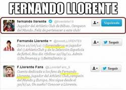 Enlace a Fernando Llorente, un crack en twitter