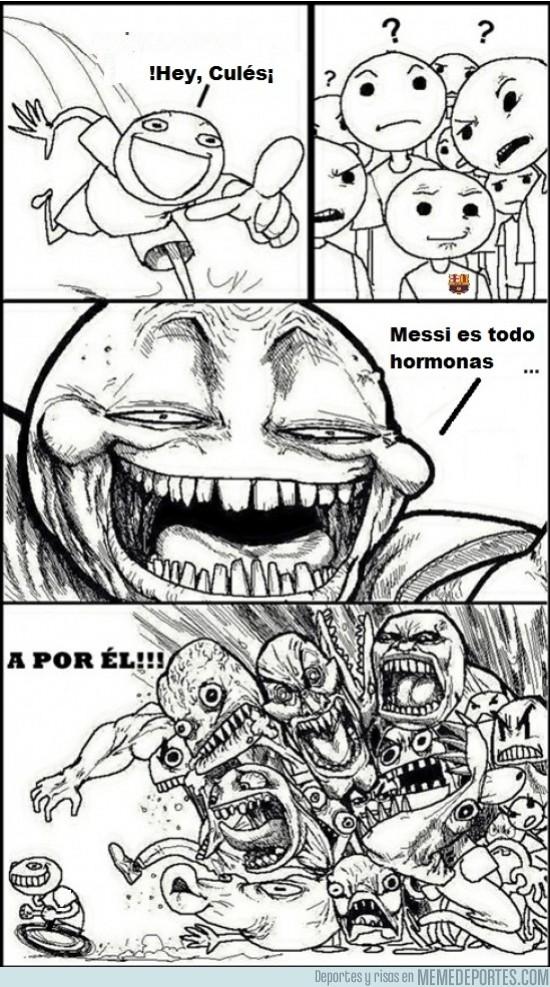 58650 - Cómo hacer rabiar a los fans de Messi