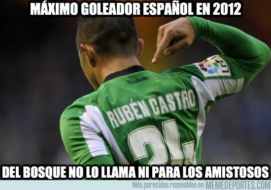 58768 - Máximo goleador español en 2012