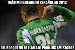 Enlace a Máximo goleador español en 2012