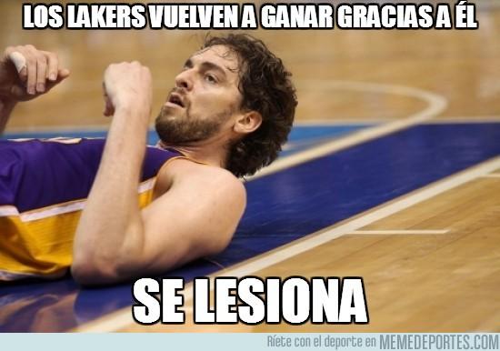 59275 - Los Lakers vuelven a ganar gracias a él