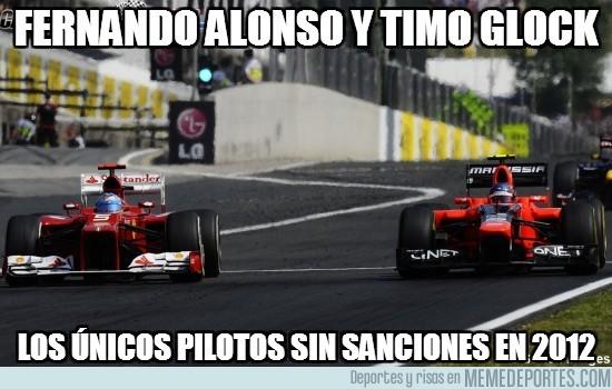 59410 - Fernando Alonso y Timo Glock