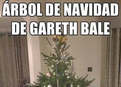 Enlace a Árbol de Navidad de Gareth Bale