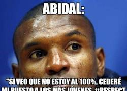 Enlace a Respect Abidal