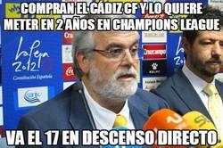 Enlace a Compran el Cádiz cf y lo quiere meter en 2 años en champions league
