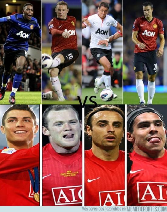 60690 - ¿Con qué delantera del United te quedas?